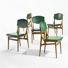 gio ponti chairs model set of five wright