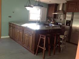 Walnut Kitchen Floor The Lucy Library Company Home Interiors Exteriors Dark Walnut