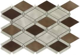 ash sable diamond copper brushed aluminum tile