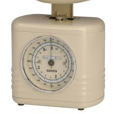 Small Picture Typhoon Vintage Kitchen Scales In Cream Kitchen Accessories