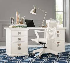 pottery barn home office furniture. pottery barn bedford rectangular desk antique white home office furniture sale