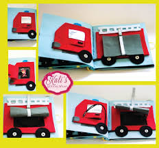 my personal favorite pages of the vehicles quiet book the fire truck on