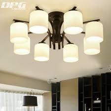 Us 1080 50 Offmoderne Led Weißem Milchglas Decke Leuchten Lampe Für Hauptbeleuchtung Leuchte Wohnzimmer Esszimmer Kinder Schlafzimmer In