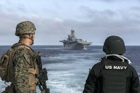 Us Navy Gunners Mate By Official Imagery Mates Inspect Machine Gun