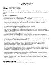 director job description job description area manager of operations 4 2 2014