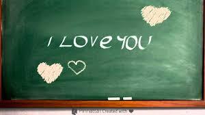 pinnatta chalkboard i love you equation