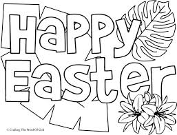 Easter Sunday Free Coloring Pages Psubarstoolcom