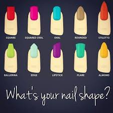 Best Nail Shape Chart I Have Seen Current Fave Is Almond