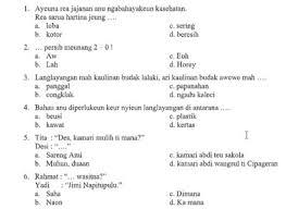 Soal bahasa sunda kelas 8 semester 1 dan kunci jawaban guru ilmu. Kunci Jawaban Buku Bahasa Sunda Kelas 3 Kurikulum 2013 Guru Galeri
