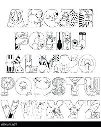 Free Abc Coloring Pages Free Downloadable Alphabet Coloring Pages