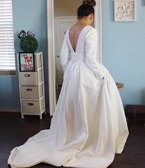 Ivory embossed wedding dress/ quilt jacquard wedding gown / & Like this item? Adamdwight.com