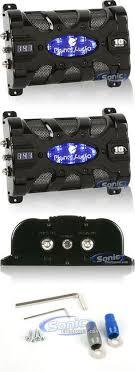 capacitors planet audio pcblk2 0 2 farad car capacitor capacitors planet audio pc10f 10 farad capacitor digital voltage display > buy it