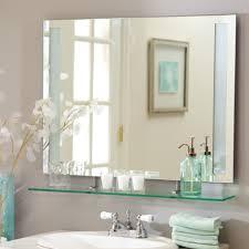 Bathroom Beveled Glass Mirrors • Bathroom Mirrors