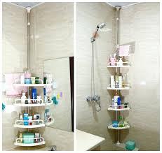 bathtub corner shelf bathroom shelf corner shelf stainless steel tripod floor storage bathtub corner shelf oxo