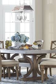 Our Lakeview Rectangle Dining Table Has A Concrete Top Double
