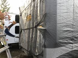 adco tyvek all climate wind rv er for 5th wheel toy hauler up to 34 long gray adco rv ers 290 34855