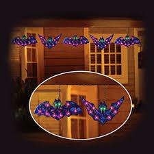 outdoor halloween lighting. Outdoor Halloween Lighting. 5-holographic-bat-lights-indoor-outdoor- Lighting