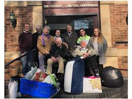 Leamington Spa care home delivers clothing donation to help homeless people