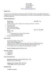 Professional Resume Template Australia Resume Template Template Free