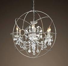 source foucaults orb orb crystal chandelier foucaults orb clear crystal