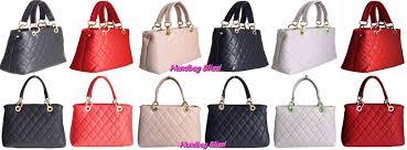 handbag bliss italian leather quilted designer inspired classic handbag shoulder bag new style