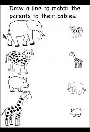 Kindergarten Zoo Animal Worksheets : Kindergarten Animal Worksheets ...