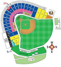 58 Detailed Baseball Park Map