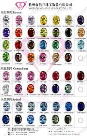 Aquamarine Color Chart Cubic Zirconia Color Chart _ Wuzhou Yisheng Jewelry Co Ltd