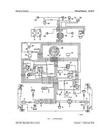 john deere wiring diagram wiring diagram for a john deere 6400 the wiring diagram electrical diagram for john deere 4240