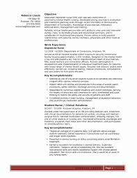Best Of Psychiatric Nurse Practitioner Sample Resume Resume Sample