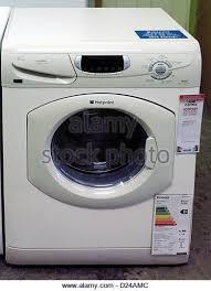 hotpoint washing machine where to put powder. Fine Put Hotpoint Washing Machine On Sale In Showroom  Stock Image And Where To Put Powder