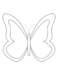 You need to use these photo for backgrounds on computer system with high quality resolution. Butterfly Templates Butterfly Coloring Pages Butterfly Outline Butterfly For Art