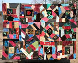 Silk Victorian Crazy Quilt For Sale | Antiques.com | Classifieds & Silk Victorian Crazy Quilt - For Sale Adamdwight.com