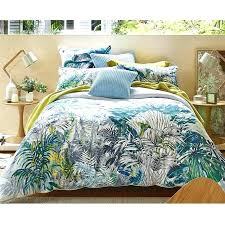 tropical duvet covers tropical duvet covers king size lagoon quilt cover set by planet linen home tropical duvet covers