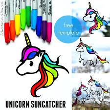 stained glass stained glass unicorn rainbow to make with kids adventure in a box this