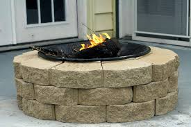 backyard creations fire pit propane top