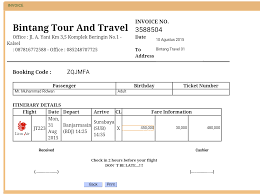 How To Create A Company Bill Format In Tour And Travel