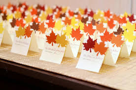 Fall Place Cards Fall Place Cards In 2019 Wedding Place Cards Wedding