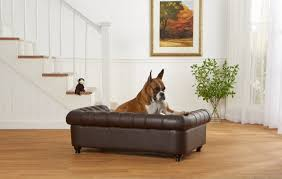 Enchanted Home Pet Wentworth Dog Sofa with Solid Foam Cushion & Reviews    Wayfair