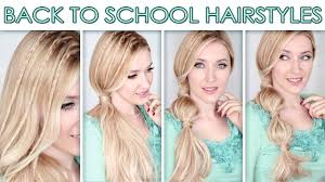 Quick Cute Ponytail Hairstyles Hairstyles For Long Hair For School Cute Quick Bubble Ponytail