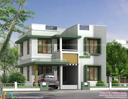 simple home designs. simple flat roof house in kerala home designs