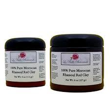 details about rhassoul clay exfoliating powder diy face mask pore cleanser 4oz 8oz