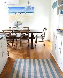 your feet feel warmer on a rug than on a tile floor because the rug kitchen