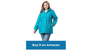 aqua plus size weather resistant anorak