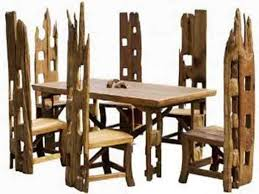 rustic dining room chairs. Furniture: Rustic Dining Chairs Lovely Unique Room