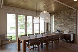 beautiful pendant lights above dining table decoist dma homes