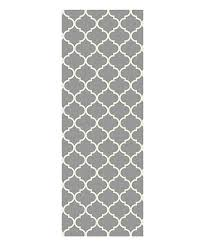 light gray trellis ruggable two piece washable rug system