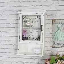 cream vintage style bathroom wall