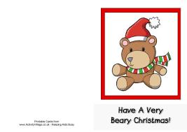Printable Christmas Card First Spa Info