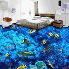 Epoxy Flooring 3d Designs 3d Bedroom Epoxy Flooring Design Deep Sea Themed